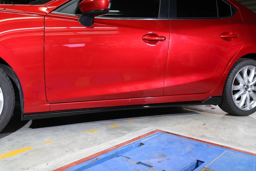 Dokładki progów Mazda 3 4/5D 14- MZ Style - GRUBYGARAGE - Sklep Tuningowy